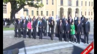 موقف اردوغان ادهش زعماء العالم