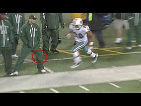 NFL Bad Sportsmanship Moments