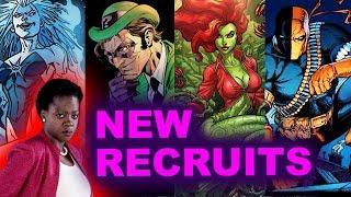 Suicide Squad 2 Sequel - Poison Ivy, Deathstroke, Killer Frost, Riddler