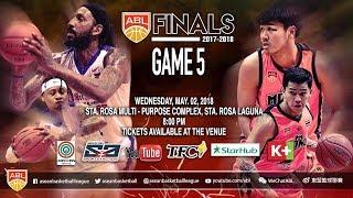 San Miguel Alab Pilipinas vs. Mono Vampire | FULL GAME | 2017-2018 ASEAN Basketball League