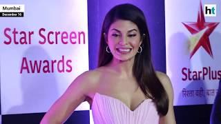 Watch: Salman Khan, Deepika Padukone, Jacqueline Fernandez at Star Screen Awards red carpet
