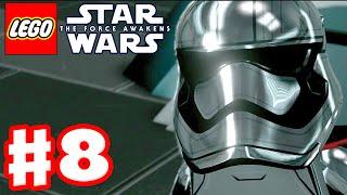 LEGO Star Wars The Force Awakens - Gameplay Part 8 - Chapter 8: Starkiller Sabotage!