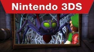 Nintendo 3DS - Luigi's Mansion: Dark Moon E3 Trailer