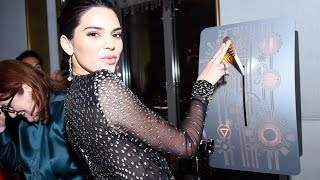 Kendall Jenner LIGHTS UP the Empire State Building!