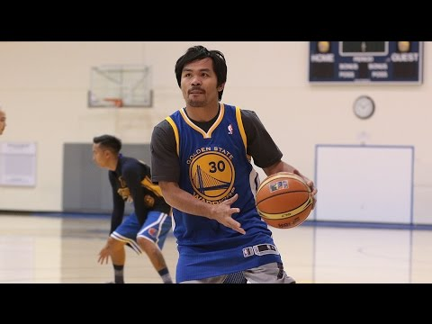 Manny Pacquiao s Warriors Visit