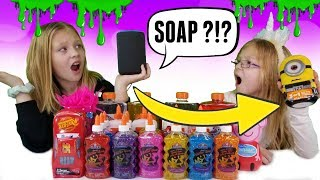 ALEXA Picks My SLIME Ingredients SWITCH UP Challenge!!!