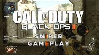 Call of Duty Black Ops 2 | Sniper Gameplay Ballista sur Yemen