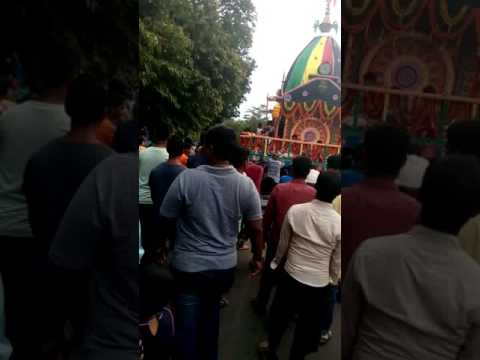 Rathyatra at siripur with Mother