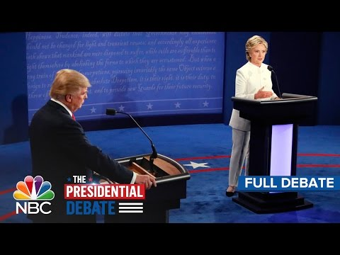 The Third Presidential Debate Hillary Clinton And Donald Trump Full Debate NBC News