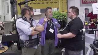 Cine Gear 2014: Walter Klassen Slingshot Movi Rig
