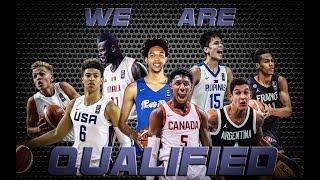 QUALIFIED TEAMS/NATIONS FOR FIBA U19 WC 2019 + RISING STARS