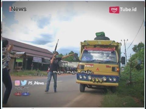 Detik-detik Polisi Geledah Truk Pembawa 5 Kilogram Narkoba Part 02 - Police Story 1206