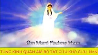 TỤNG Kinh Cứu Khổ Cứu Nạn Quán Thế Âm Bồ Tát, Kinh Phật Giáo Phẩm Phổ Môn, Đ Đ Thích Vạn Mãn