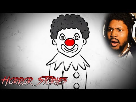 Xxx Mp4 IF YOU DON T LIKE CLOWNS DON T WATCH Reacting To Scary Horror Stories SSS 3gp Sex