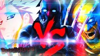 Ban VS. Deadpool VS. Wolverine   Confronto de Rap   Part: AkiraRap
