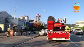 SATV 210918 incendi Synthesia Castellbisbal