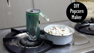 How to Make a Popcorn Machine | DIY Popcorn Maker