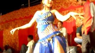 Hot Item Bar Girl in Bhojpuri Stage Arkestra Dance Program