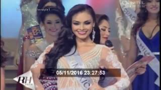 Magdalena Chipres Virreina de Reina Hispanoamericana 2016 [HD]