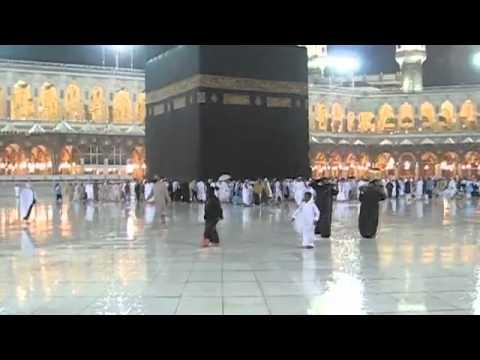 beautiful rain and Thunderstorm in Mecca Makkah Harram Dhul Qiddah video by Muhammad Ahsin Manzoor