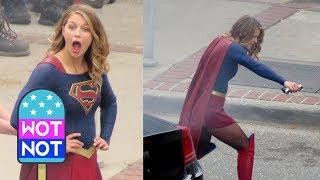 Melissa Benoist Returns to Film Supergirl Season 3 in Vancouver, Canada