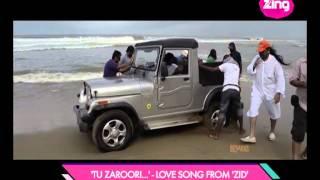 Making Of 'Tu Zaroori' - Romantic Song From 'ZID'