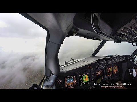 Go Around - Boeing 737 Cockpit View