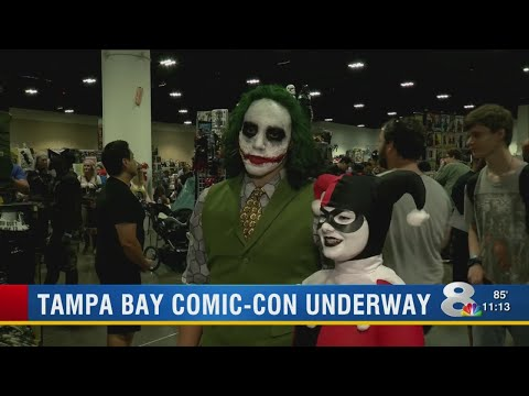 Xxx Mp4 Tampa Bay Comic Con Is Here For The Weekend 3gp Sex