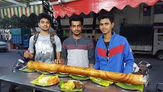 R.K Dosa camp (Shanthinagar). Large family dosa.  1 Crore views!
