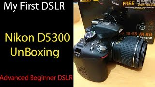 Nikon D5300 Unboxing - Price in pakistan - Extra offers ??? 😍