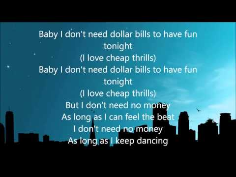 Xxx Mp4 Sia Cheap Thrills Lyrics 3gp Sex