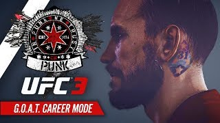 UFC 3 Career Mode - Ep 1 - PUNK'S REDEMPTION!! (CM Punk GOAT Career #1)