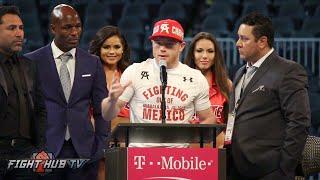 Canelo Alvarez vs. Amir Khan COMPLETE Post Fight Press Conference video