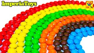 Learn Colours with M&M's Rainbow! Learn to make Rainbow with M&M ImperiaToys