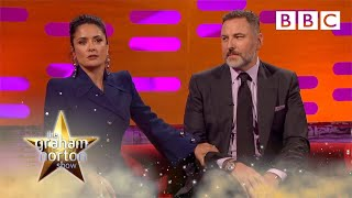 Salma Hayek's tops David Walliam's anecdote about Prince - The Graham Norton Show 2017: Preview
