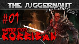 SWTOR Sith Warrior JUGGERNAUT Class Story #01 - Creation & Korriban