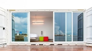 Sleeping Around: Belgium's Pop-Up Shipping Container Hotel Is Always On the Move