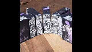 LAVENDER PATCH & CEDAR PATCH ARTISAN SOAP Making and Cut