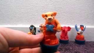 Lion King Simba's Pride Nestle Figures Review