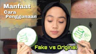 Bagus Untuk Kulit Kusam Dan Berjerawat! | Review Nature Republic Aloe Vera 92% Soothing Gel