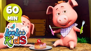This Little Piggy - Learn English with Songs for Children | LooLoo Kids