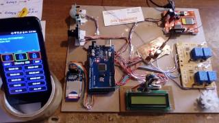 Smart Home Automation & Security System Using Arduino, PIR Sensor and Camera with SMS Alert