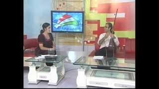 Goodarzi,Tajikistan TV part 1 مرتضی گودرزی در کانال یک  تاجیکستان
