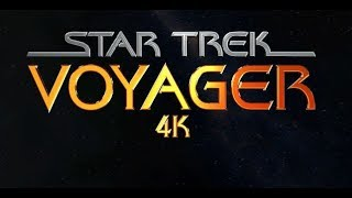 Star Trek Voyager - 4k / HD Title Sequence Recreation By NeonVisual