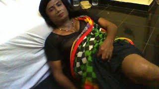 Shemale wearing Saree 2