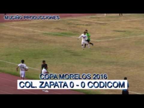 COLONIA ZAPATA CAMPEON COPA MORELOS 2016