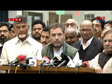 Xxx Mp4 Rahul Gandhi Mamata Banerjee Speaks To Media After Anti BJP Front Meeting CVR News 3gp Sex