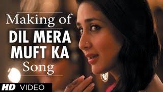 Dil Mera Muft Ka Song Making | Agent Vinod | Kareena Kapoor