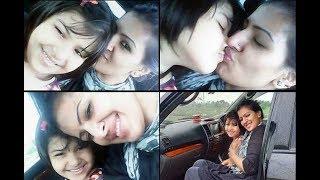 মা মেয়ের সেলফি টাইম | Srabosti Dutta Tinni Selfie with Daughter | অভিনেত্রী শ্রাবস্তী দত্ত তিন্নি