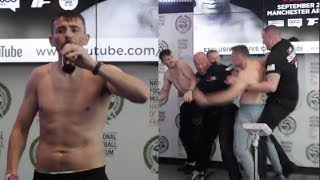 INSANE! -PETER McDONAGH DRINKS A BEER AFTER STARTING FIGHT w/ SINGLETON - WHO GOES CRAZY AT WEIGH IN